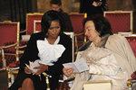 Obamová zapomněla na Livii Klausovou i Prahu: Návštěvu v roce 2009 si nepamatuje, přiznala