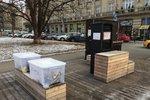 Projekt #darujkabat se přesunul na Šesťák. Radnice koupila skříň a boxy