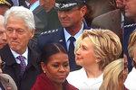 Bille? Hillary přistihla manžela při mlsném okukování. Díval se na Ivanku?