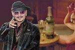 Johnny Depp měsíčně utratí 50 milionů! 755 tisíc dá za víno. Podívejte se na jeho účet