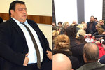 Pohřeb romského milionáře Lakatoše: Do rakve mu dávali alkohol, peníze, cigarety a mobily