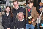 Slavní ukázali své ratolesti: Gondík se synem a neteří, Kraus s nevlastní dcerou!