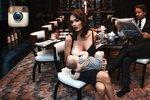 Tamara Ecclestone hrdě pózuje při krmení dcerky Sophie: Budu ji kojit do 4 let!