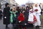 Třídenní masopust v Praze 3: Dobré jídlo, masky, ohnivá show i zábava pro děti