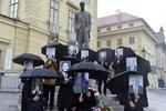 U Hradu se sešli všichni naši prezidenti. Aby propagovali volbu hlavy státu