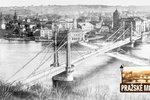 Předchůdce Štefánikova mostu odkládali kvůli Napoleonovi. A z ciziny dodali nekvalitní ocel