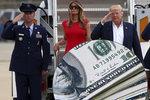 Ochrana Trumpovy rodiny se prodraží. Tajná služba žádá navíc 1,5 miliardy