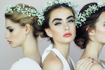 100 let svatebních účesů: Kdy se nosily vlny, drdoly nebo květinové věnce?