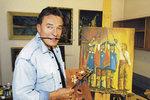 Karel Gott má nový kšeft: Namaloval nový obraz!