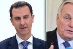 Asad rozlítil popíráním chemického útoku v Sýrii Francouze. Ministr je zděšen
