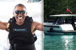 Obamův život po prezidentování: Superluxusní dovolené a romantika s Michelle