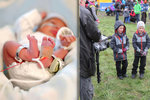 Dvojčata narozená v 25. týdnu s váhou kolem 700 g: Dnes na závodech prohání vrstevníky