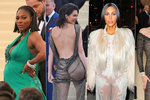 NEJ okamžiky Met Gala: Zatracovaný zadek Kardashian, bříško Williams a provokace nahotou