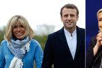 """Macronova starší žena i """"vyčůranost"""" Le Penové. Jak to vidí Češi v Bruselu"""
