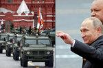 Rakety, tanky a Putinův smích: Rusko slaví konec II. světové války