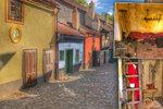 Domky ve Zlaté uličce: Takto vypadají uvnitř. Žila tu stráž, řemeslníci i věštkyně