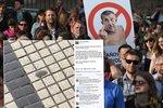 """Žvýkačka vs. Andrej: Lidé na Facebooku sbírají """"lajky"""" na protest proti Babišovi"""