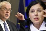 """Musíme do """"rychlejší"""" EU, chce Jourová. A potřebujeme euro, volá Špidla"""
