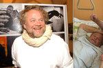 Známý český fotograf se probral z kómatu: Teď se učím chodit, říká
