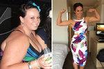 Kate Writer zhubla o 55 kilogramů během 9 měsíců!