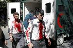 Krvavý útok poblíž české ambasády zabil 150 lidí. Explozi natočila kamera