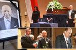 Pohřeb dirigenta Bělohlávka (†71): Loučili se Hanzlík, Margita nebo Forejt