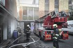 Sklad ve filmových ateliérech na Barrandově zapálil opilý Lukáš K.: V suterénu rozlil podpalovač a škrtl