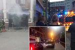Útok na restauraci na severu Paříže: Molotovův koktejl zranil 12 lidí
