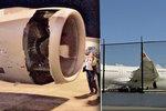 Exploze při letu hrůzy: Airbus musel nouzově přistát kvůli obří díře v motoru