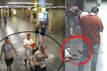 Dva bráchové (22,23) brutálně v metru zbili cizího muže: Sami se přišli udat