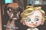 Umělec Robert DeJesus dělá karikatury z fotek lidí a zvířat