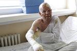 """""""Za pár minut bych byl mrtvý."""" Američana Willa málem zabila exploze domu na Mělnicku"""