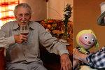 Děda Lubin Kostelka (90) z Kouzelné školky: Nad vodou ho drží pivo