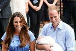 Vévodkyně Kate porodila chlapce! Jaké mu dají jméno?!