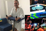 Zemanův muž po nehodě míří do práce. Syn promluvil o stavu policisty z BMW