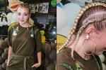 Dcera Patrasové Anička si chce oholit hlavu. Účast ve Tváři jí prý zničila vlasy