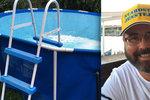 Prodám bazén: Inzerát starosty Jenštejna rozsekal český Facebook