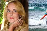 Vendula Pizingerová s manželem sjíždějí vlny! Syna Jakuba víc než památky zajímá mobil