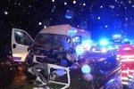 Tragédie v Brně, řidič († 34) osobního auta nepřežil střet s dodávkou