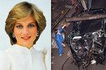 Chci vystavit vrak, v němž se zabila princezna Diana (†36), šokuje majitel limuzíny