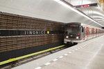 Metro na lince B opět zastavuje v Jinonicích: Opravy po 7 měsících skončily