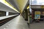 Od pátku budou opět fungovat oba vstupy do metra na Palmovce: Oprava vyšla na skoro 100 milionů