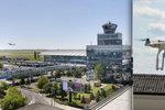 Letadla v Praze ohrožoval dron: Letiště odklánělo provoz