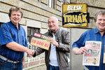 Hra Blesku Trhák už rozdává peníze! Vašek (54) z Řevničova získal 10 000 Kč: Peníze dostanou vnoučci