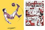 Hrdinové a legendy fotbalu skórují i v unikátní knize plné osudových příběhů