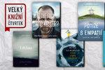 Velký knižní čtvrtek podvanácté: Představí se samá zvučná jména