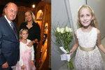 Janečkova dcera má první lásku! Je jí o 76 let starší zpěvák!