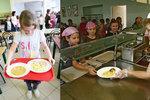 České děti jsou ve škole bez obědů: Rodiče na ně nemají, žákům se horší prospěch