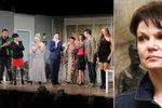 Simona Postlerová po smrti manžela: Na jevišti smích, v zákulisí pláč