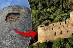 Z hladomorny hradu Radyně vypadly kameny: Místo je nebezpečné, lidé kradou cedule se zákazem vstupu
